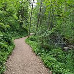 From of McCall House with the Manager and a path in Lithia Park