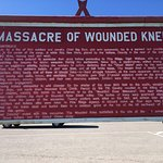 Victors point of view of events at wounded knee. Disgusting!