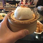 Barbecue Chicken Bao