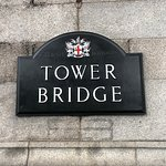 Sign for Towerr Bridge