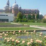 La basilica di Santa Giustina vista dall orto botanico