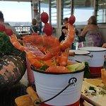 Bucket of prawns