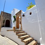 The entrance of Cosmos Home Lindos
