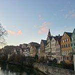 Altstadt von der Neckarbrücke aus