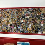 Police Patches at Mangialardo's