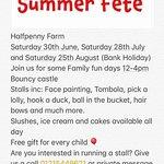 Half Penny Farm Summer fetes