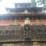 Wooden Monastery at Lel' Kaing Village