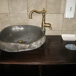 Rustikales Handwaschbecken