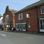Frontage on Market Hill in centre of Orford