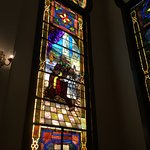 Temple Sinai Stained Glass Window