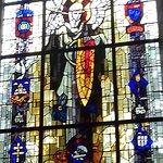 Un vitrail de l'église, vous l'avez peut-être reconnu....