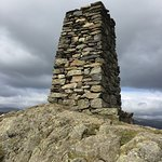 The cairn at the top of the fell