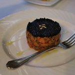 Salmon Tartare with Lumpfish Caviar