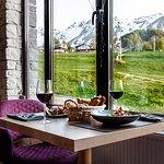 "Ресторан ""Розмарин"" на Роза Хутор, высота 1170 метров."