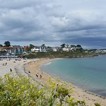 One of the other beaches along the coastal path to Swanpool Beach