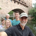 #Nuremberg Tours in English with #HappyTourCustomers at the Kettensteg
