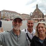 #Nuremberg Tours in English with #HappyTourCustomers at the Nuremberg Hauptmarkt