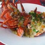 Foto van the blue lobster