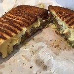 The Ramp Bratwurst sandwich