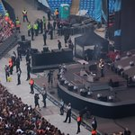 Ed on stage