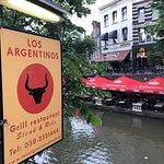 Los Argentinos aan de werf