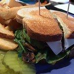 Veggie Sandwich for the meat free folks!