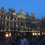 Grand Place with Lightening