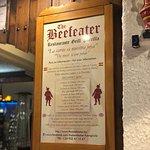 Foto van The Beefeater