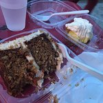 carrot cake and key lime pie