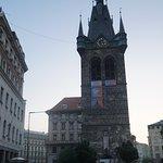 布拉格亨利钟楼照片