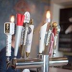 Draft Beers at the bar