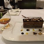 Opera Cake with Delamain XO cognac