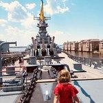 Battleship Wisconsin ภาพถ่าย