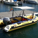 Our inflatable boats equipped with a glass bottom will allow you to enjoy the views of the seabe