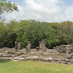 San Gervasio Mayan ruins at Cozumel.