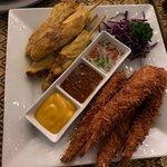 Chicken Satay & Coconut Prawns