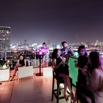 WALK is a rooftop lounge bar offering relaxation spaces and serving refreshments along with snac