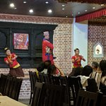 Cultural Nepali dance for the benefit of the Diners
