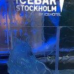 Bild från ICEBAR Stockholm