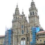 Facade of Cathedral still under renovation