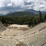 エピダウロスの劇場の写真