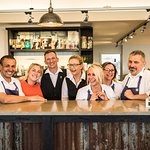 Our Lovely Canteen Team - Left to Right - Tarci, Sophie, Roy, Abi, Jessie, Kristina & David