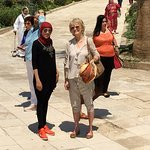 At the Citadel in Islamic Cairo