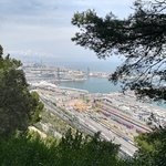 Vue depuis le sentier Cami dell mar