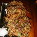 Fried seaweed and vegetables
