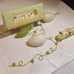 Bergamote en cremeux et marmelade acidulée – Douceur gourmande d'avocat et de thé matcha