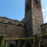 chiostro e torre campanaria