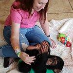 Limbani the baby chimp
