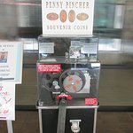 and they even have a pressed penny machine