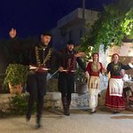 Cretan night Elpis Restaurant Plaka Apokonouras Crete